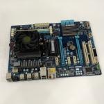 GIGABYTE GA-970A-D3 + AMD FX4100