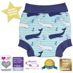 พร้อมส่ง ลายใหม่ Splash About Happy Nappy Whales