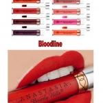**พร้อมส่ง**Anastasia Beverly Hills Liquid Lipstick #Bloodline เรียกได้ว่าเป็นลิปสติกเนื้อแมตต์ที่สาว ๆ กรี๊ดกันอย่างบ้าคลั่งตั้งแต่ยังไม่ออกวางขาย เพราะสีสันน่าจับจองเป็นเจ้าของมาก ลิปสติกเนื้อครีมแบบแมทสุดยอด Full Coverage พิกเม้นต์ดี กลบสีปากได้ดี เ ,