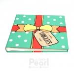 อัลบั้ม 100 รูป Congrats ลายกล่องของขวัญ สีมิ้นท์