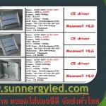 Led Multi-function light Series F IP67 3030 48pcs Bridgelux 24pcs XTE 24pcs MAX to 400W