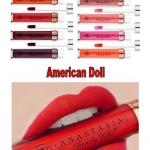**พร้อมส่ง**Anastasia Beverly Hills Liquid Lipstick # American Doll เรียกได้ว่าเป็นลิปสติกเนื้อแมตต์ที่สาว ๆ กรี๊ดกันอย่างบ้าคลั่งตั้งแต่ยังไม่ออกวางขาย เพราะสีสันน่าจับจองเป็นเจ้าของมาก ลิปสติกเนื้อครีมแบบแมทสุดยอด Full Coverage พิกเม้นต์ดี กลบสีปากได้ดี
