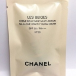 **พร้อมส่ง**Chanel LES BEIGES ALL–IN–ONE HEALTHY GLOW CREAM แบบหลอด ขนาดทดลอง 2.5 ml. เมคอัพเบสตัวใหม่ของชาแนล ปรับผิวให้เนียนสว่างเปล่งปลั่งดูผิวโกลว์สุขภาพดีสุดๆ แก้ไขรอยตำหนิต่างๆ รวมทั้งมอบความรู้สึกเนียนนุ่มและสบายผิวอย่างสมบูรณ์แบบ และให้การปกป้องผิ