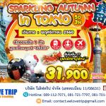 NRT03_SPARKLING AUTUMN IN TOYKO ทัวร์ญี่ปุ่นโตเกียว | 5 วัน 3 คืน (01 - 30 พศจิกายน 2560)