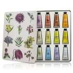 **ส่งฟรี EMS** Crabtree & Evelyn Hand Therapy Sampler Paint Tin Set of Twelve (12 หลอดx25 g.) เซ็ทครีมทามือ 12 กลิ่น มาพร้อมกล่องเหล็กลายปริ้นดอกไม้คลาสิคสวยงาม new collection 2017 ด้วยสกัดจากธรรมชาติ ช่วยให้เล็บแข็งแรงขึ้น มอบความชุ่มชื่น คืนความอ่อน ,