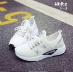 รองเท้าผ้าใบแฟชั่นทรง Sport Style Fila (สีขาว)