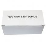 PSI ถ่านใส่รีโมทคอนโทรล AAA แพ็คกล่อง 50 ก้อน/กล่อง