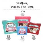 สมุดเซ็น สมุดอวยพร งานแต่งงาน Guest Book/ Scrap Book