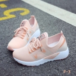 รองเท้าผ้าใบแฟชั่นทรง Sport Style Fila (สีชมพู)