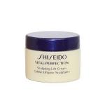 **พร้อมส่ง**Shiseido Vital-Perfection Sculpting Lift Cream ขนาดทดลอง 15ml. ครีมบำรุงผิวหน้าที่มอบผลลัพธ์ในการลดเลือนปัญหาความหย่อนคล้อย ริ้วรอยจากการหัวเราะ และผิวหมองคล้ำจุดด่างดำในหนึ่งเดียว ,