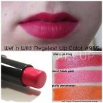 **พร้อมส่ง** Wet n Wild Mega Last Lip Color #965 Cherry Picking ลิปสติกเนื้อแมทสีชมพูอมส้ม เป็นลิปสติกจาก Drugstore ของอเมริกา กลบสีปากมิด ติดทนนานไม่เป็นคราบ พิกเม้นต์เกินราคา