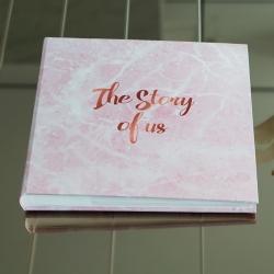 อัลบั้ม 100 รูป 4x6 นิ้ว ลายหินอ่อนสีชมพู - Pink Marble - The Story of us
