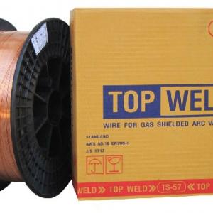 ลวดเชื่อมมิ๊กซ์ Topweld TS-57,ER-70S