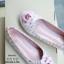 รองเท้าคัทชูส้นแบน Style Chanel (ชมพู) thumbnail 4