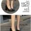 รองเท้าคัทชูส้นตันหัวกลม (สีดำ) thumbnail 2