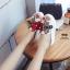 รองเท้าลำลองปักลายผึ้ง (สีขาว) thumbnail 3