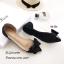รองเท้าคัทชูพียูใส (สีดำ) thumbnail 3