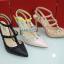 รองเท้า Valentino Heels 2015 (สีครีม) thumbnail 2