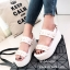 รองเท้า Platform แต่งมุก (สีขาว) thumbnail 1