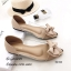 รองเท้าคัทชูพียูใส (สีครีม) thumbnail 4