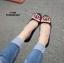 รองเท้าคัทชูส้นแบน Style Gucci (สีน้ำตาลอ่อน) thumbnail 6