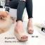 รองเท้าส้นเตารีดแบบสวงเปิดหน้า (สีครีม) thumbnail 1