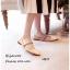 รองเท้าคัทชูซาติน Style MIUMIU (สีดำ) thumbnail 8