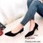 รองเท้าคัทชูกลิตเตอร์ (สีเทา) thumbnail 4