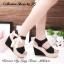 พร้อมส่ง : รองเท้าส้นสูงสไตล์เกาหลี (สีดำ) thumbnail 3