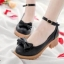 พร้อมส่ง : รองเท้าคัชชูแฟชั่นแต่งโบว์ (สีดำ) thumbnail 1