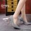 รองเท้าคัทชูผ้าลอนกลิตเตอร์ (สีเทา) thumbnail 1