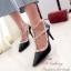รองเท้าคัทชูหุ้มส้น Valentino Style (สีดำ) thumbnail 2