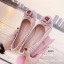 รองเท้าคัทชูส้นแบน Style Chanel (ชมพู) thumbnail 3