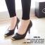 พร้อมส่ง : รองเท้าคัทชู Zara หัวทอง (สีดำ) thumbnail 3