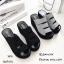รองเท้าส้นเตารีดลำลองแต่งเมจิกเทป (สีดำ) thumbnail 10