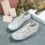 รองเท้า MIUMIU Sneakers Hi-End Grade (สีขาว) thumbnail 3