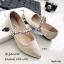 รองเท้าคัทชูซาติน Style MIUMIU (สีดำ) thumbnail 10