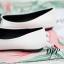 รองเท้าคัทชูส้นแบนแต่งหัวใจ (สีดำ) thumbnail 8