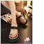 พร้อมส่ง : รองเท้าส้นเตารีดแบบลำลอง (สีดำ) thumbnail 3