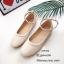รองเท้าคัทชูส้นแบนถักเปีย (สีแดง) thumbnail 6