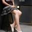 รองเท้า Chanel Espadrilles รุ่นเปิดส้น (สียีนส์) thumbnail 12