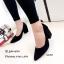 รองเท้าคัทชูส้นตันทรงหุ้มส้น (สีดำ) thumbnail 1