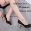 รองเท้าคัทชูส้นฝังเพชร (สีเงิน) thumbnail 9