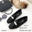 รองเท้าคัทชูหนังนิ่ม Style Hermes (สีดำ) thumbnail 1