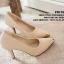 พร้อมส่ง : รองเท้าคัทชู Zara หัวทอง (สีดำ) thumbnail 4