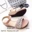 รองเท้าส้นเตารีดสไตล์ BaoBao (สีเทา) thumbnail 6