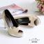 รองเท้าคัทชูขอบทอง (สีครีม) thumbnail 2