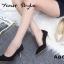 รองเท้าคัทชูส้นโลหะทรงหัวแหลม (สีดำ) thumbnail 3