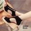 รองเท้าส้นเตารีดสักหลาดแต่งซิป (สีน้ำตาล) thumbnail 10