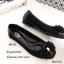 รองเท้าคัทชูแต่งอะไหล่คริสตัล (สีดำ) thumbnail 2